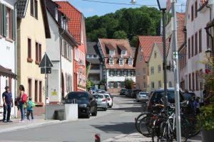 Rohrbach oberer Teil der Rathausstr.