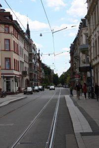 Weststadt Römerkreis - Anfang der Römerstr.